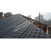 Quality Eco-friendly recyclable PVC house roofing tiles for sale