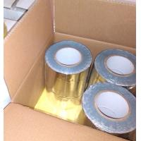 Quality GRAY COLOR BUTYL RUBBER ADHESIVE WITH COLORFUL ALUMINIUM FOIL FLASHING TAPE for sale