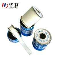 Medical zinc oxide adhesive perforated plaster roll for sale