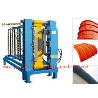 Quality High Grade 45# Steel Arch Bending Machine , PVC Door and Window Making Machines for sale