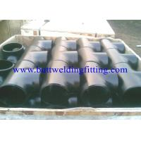 Quality Stainless Steel Straight Tee A403 Wp304 L , Wp316l , Wp321h , Wp347 Wp904L for sale