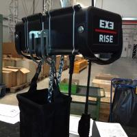 Quality Construction Exe Rise Motor Chain Hoist With D8 + 160kg Loading Capacity for sale