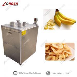 Quality Banana Chips Cutting Machine Banana Slicer Machine Plantain Chips Slicer Machine Automatic Banana Slicing Machine for sale