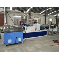 Quality Single Screw Pvc Plastic Granules Making Machine With One Year Warranty for sale