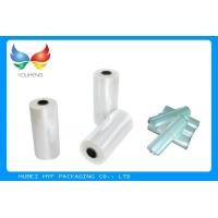 Quality Translucent POF Shrink Film Rolls , Heat Shrink Plastic Sheets Easy Wrapping for sale