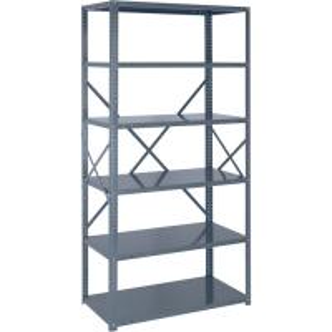 Quality 18 Gauge Industrial Storage Shelving Racks Freestanding Shelving Unit for sale