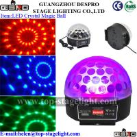 Quality led Crystal Magic ball Christmas light for party for sale