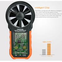 USB Interface Hand Held Wind Anemometer , Custom Air Flow Velocity Meter for sale