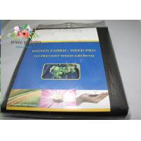 Buy Black Garden Plant Accessories - Tear Proof Weed Block Fabric / Weed Control at wholesale prices
