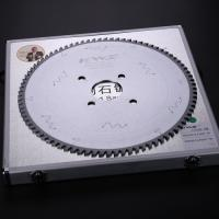 China Chamfered Triple Flat Tooth PCD Saw Blade For Laminated Boards Plating Finishing on sale