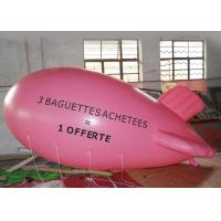 China Large Pink Inflatable Balloons For Advertising Event / Airship Balloon on sale