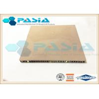 Quality Excellent Durability Honeycomb Stone Panels , Lightweight Exterior Wall Panels for sale