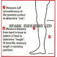 Quality Medical Compression Stockings Of Knee Length For Varicosis With Oedema for sale