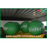 Quality 2.5m Green Giant Inflatable Led Helium Balloon for Advertising for sale