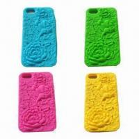 Quality Silicone Cases for iPhone, Dust-proof, Durable, Customized Designs, Colors Acepted for sale