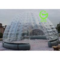 Quality 2016 hot sell Igloo inflatable clear  tent for commercial use with 24months warranty for sale