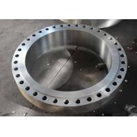China Slip On Alloy Steel Metal Pipe Flange ASTM A182 Standard High Temperature Service on sale
