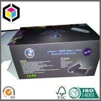 Quality Matte Black Cardboard Packaging Box; CMYK Full Color Litho Print Packaging Box for sale
