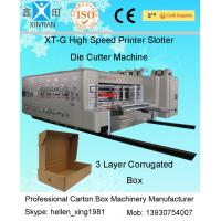 Quality High Speed Automatic Carton Machine Of Printing , Dynamic Balance Machine for sale
