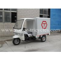 Quality Three Wheel Closed Box Cargo Tricycle Motorcycles Air Cooled 4 Stroke Engine for sale