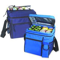 Quality 24 Pack Durable Polyester Cooler Lunch Bag-picnic tote bag-promotional lunch bag for sale