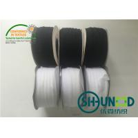 China Clothes Accessories White / Black Color Trimmings For Welt Seam 1CM Width on sale