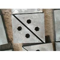 Buy cheap Chrome-Moly Steel triangle wear plates for crusher machine and ball mill from wholesalers