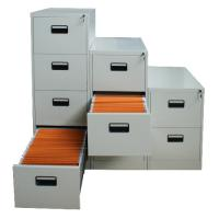 China Powder coating vertical file cabinet with 4 drawers on sale