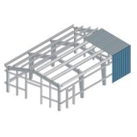 Quality Safety Multi Layer Workshop Steel Building Frame ISO9001 SGS Certification for sale