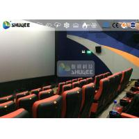 Quality CE Approval 4D Digital Cinema Equipment With Curved Screen / HD Projectors for sale