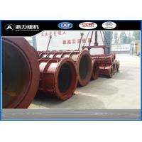 380V / 50HZ Concrete Tube Mold , Cement Pipe Mould Steel Material