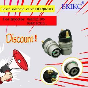 Quality bosch common rail solenoid valve FOORJ02703  (F OOR J02 703) solenoid valve control F00V C30 318 for sale