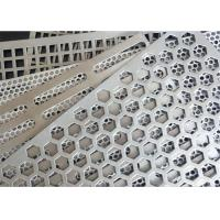 Buy cheap Square Holes Perforated Aluminum Sheet 1060 Thickness 3mm Hole Diameter 0.5-6mm from wholesalers