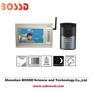 Quality Wireless video door phone for sale