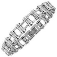 Buy cheap Titanium Bike Chain Bracelets Mens 1420148  from wholesalers