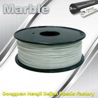 Quality Marble 3D High Strength Printer Filament 3mm / 1.75mm , Print temperature 200°C - 230°C for sale