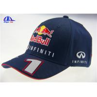Quality 98% Cotton 2% Spandex Racing Baseball Caps for sale