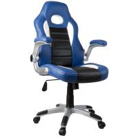 Quality PU Leather Material Adjustable Office Chair With Wheels Various Color for sale
