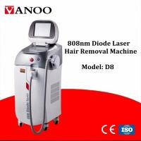 Micro Cooling System 808nm Diode Laser Hair Removal Machine For Armpit Hair