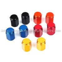China Colorful Decoration Tire Air Valve Caps , Air Caps For Tires / Wheel on sale