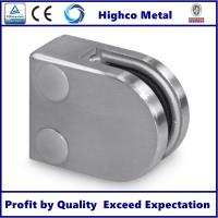 Buy cheap Stainless Steel D Shape Round Glass Clamp Fit 8-10mm Glass for Glass Railing and Balustrade from wholesalers
