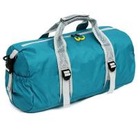 Quality 210D Round Sports Bag Womens , Lightweight Gym Bag To Carry Weights for sale