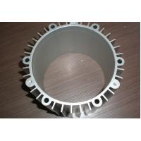 Quality Mill Finish Round Aluminium Profile Custom Shape Silver White Color For Solar Cell for sale