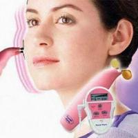 Quality Six-program Facial Exercise Device with LCD Display, Promotes Blood Circulation for sale