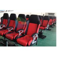 Quality Cheapest cinema seat in China, Dynamic Cinema Seat Motion Theater Chair With Push Back, Electric Shock for sale