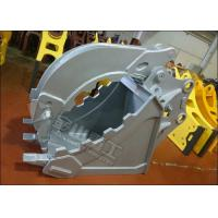 Quality Non Rotary Excavator Grab Bucket Hydraulic Large Jaw Opening For CAT320 CAT330 for sale
