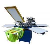 China SG-3M3 Textile Screen Printing Machine with 8 color 8 station on sale