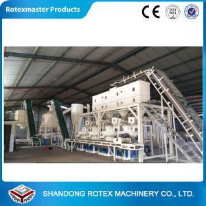 China CE Certificated 1-1.5Ton/h Ring Die Pellet Machine / Wood Pellet Mill on sale