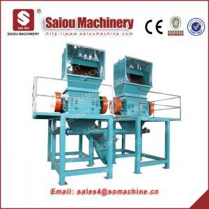 Buy crushing machine fiber pipe crushed waste plastic crushing line at wholesale prices