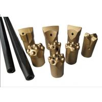 China High Hardness Small Hard Rock Drill Bits Tapered Drill Bits For Marble Quarry for sale